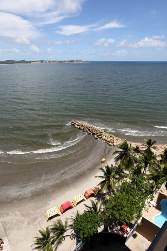On a clear day - Affordable, modern, beach front apt. w/ocean view. - Cartagena - rentals