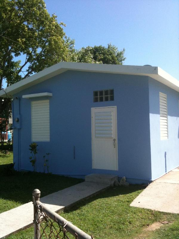 Front view of Andrea's House - Andrea's House Rental in Vieques - Vieques - rentals