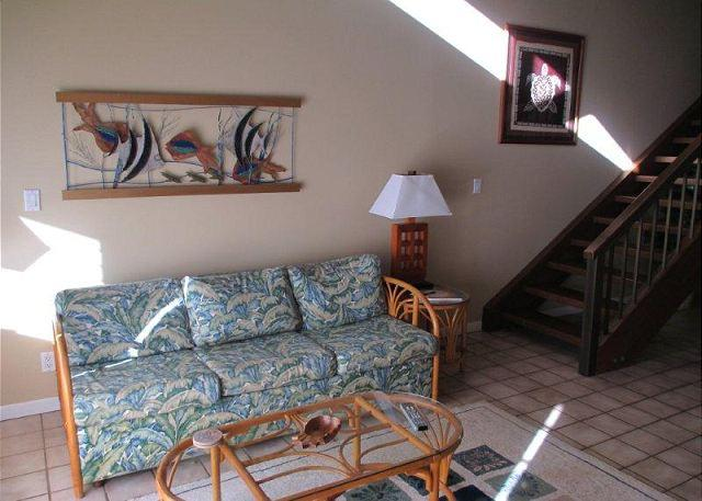 Living Room - Available for 30 day rentals - please call. - Kahuku - rentals