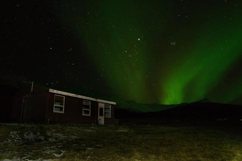 aurora borealis - Cottage between Djupivogur and Hornafjordur - Djupivogur - rentals