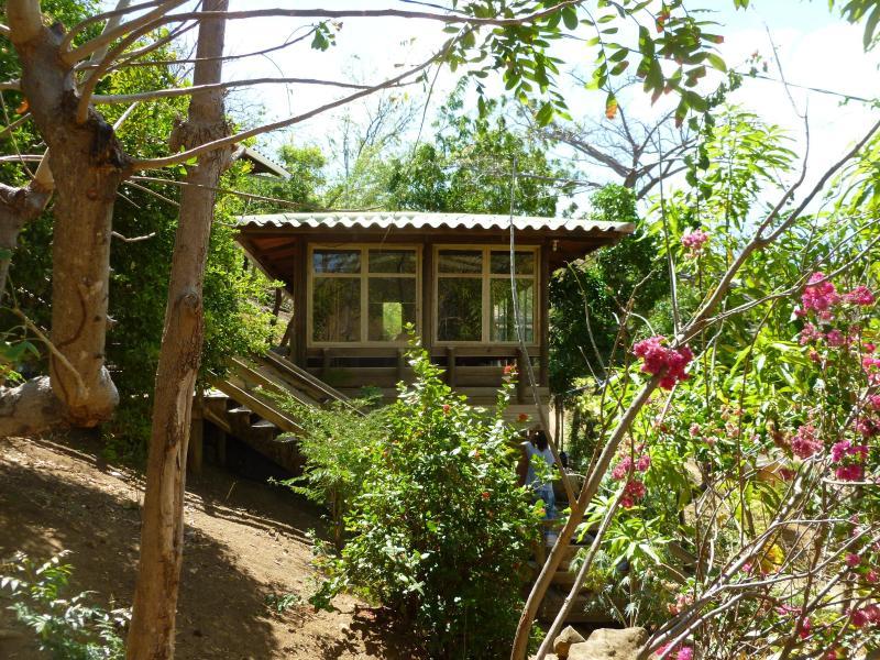 Casa Malinche: 3 pine lodge houses, perched on a hill - Casa Malinche, Remanso, San Juan del Sur,  Nicaragua - San Juan del Sur - rentals