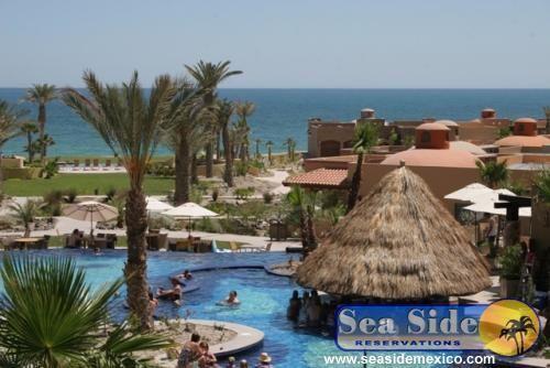 Pool with Swim up bar and Ocean View - Bella Sirena 304D - Beautiful Resort - Puerto Penasco - rentals