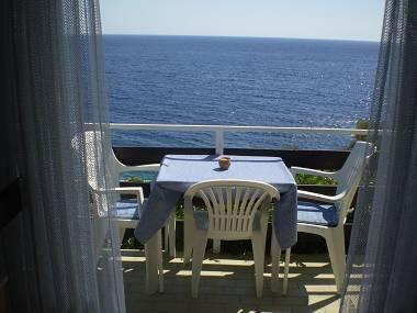 SA2(2+1): balcony - 6138 SA2(2+1) - Milna (Hvar) - Milna - rentals