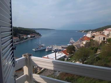 A1(4+2): terrace view - 6732 A1(4+2) - Povlja - Povlja - rentals