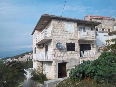 house - 6732 A2(2+1) - Povlja - Povlja - rentals