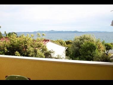 A1 Zeleni (4+1): terrace view - 7148  A1 Zeleni (4+1) - Petrcane - Petrcane - rentals