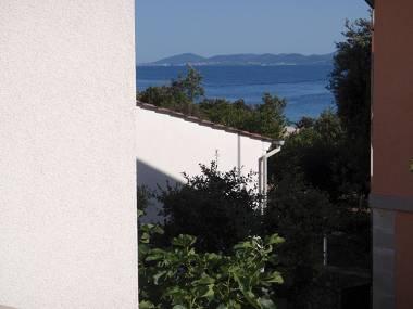 A2 Narancasti (4+1): terrace view - 7148  A2 Narancasti (4+1) - Petrcane - Petrcane - rentals