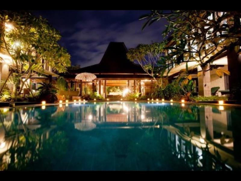 Poolside romance facing Joglo - Seminyak Bali villa rental - Seminyak - rentals