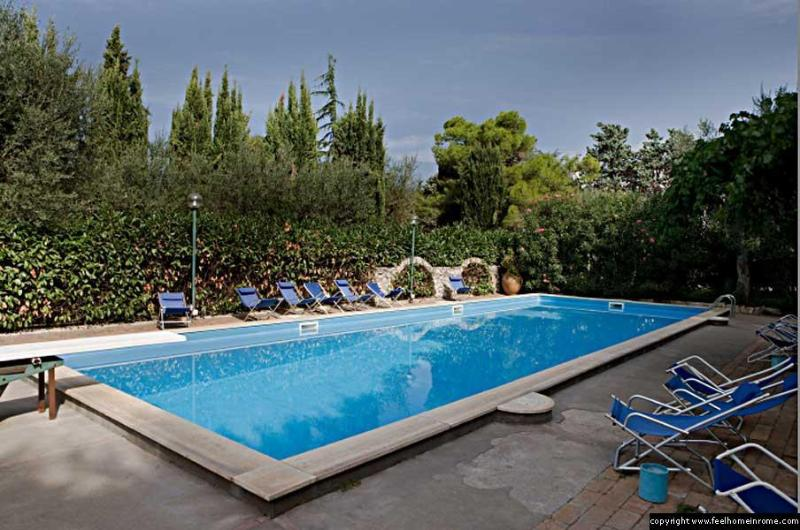 The Swimming Pool - Anacapri Villa with Swimming Pool (Sleeps 5) - Anacapri - rentals