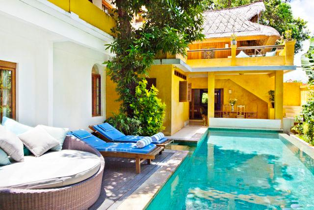Pool deck - Villa Pantai Seminyak w/ beach access - 5RM/House - Seminyak - rentals