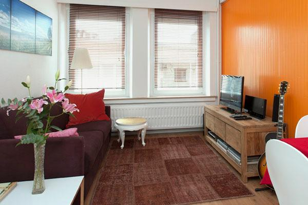 living room + TV + free wifi - Ahome  Awayfromhome - Antwerp - rentals