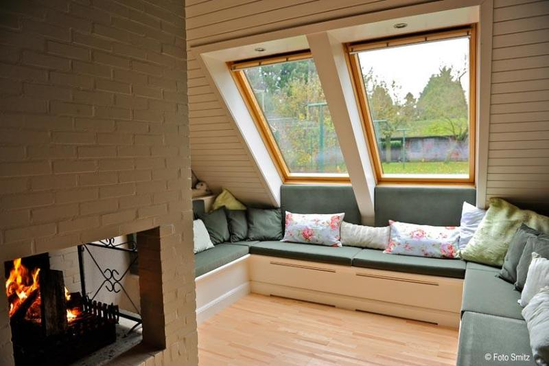 "Sitting corner with open fire - B&B Schaepsgerwe - Room ""Struweel"" - Eeklo - rentals"
