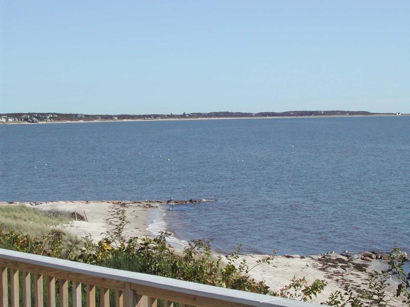 View of Nantucket Sound from Property - South Chatham Cape Cod Waterfront Vacation Rental (115) - Chatham - rentals