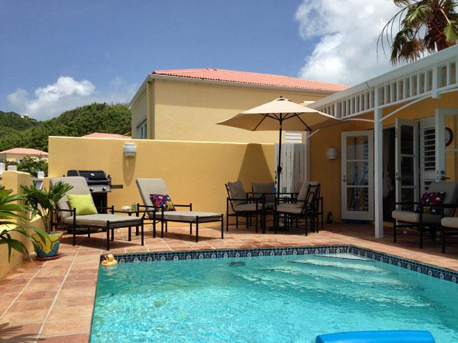 Aahhh - this is the life ... - Island Dreams Villa with Private Pool - Teague Bay - rentals