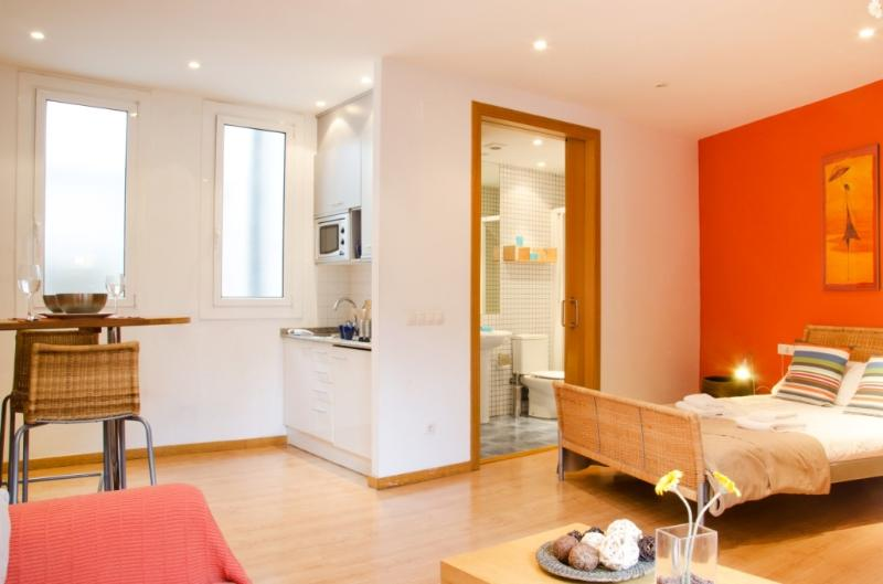 Sunny studio in Ribera - Barri Gòtic Barcelona 39 - managed by travelingtolisbon - Image 1 - United States - rentals