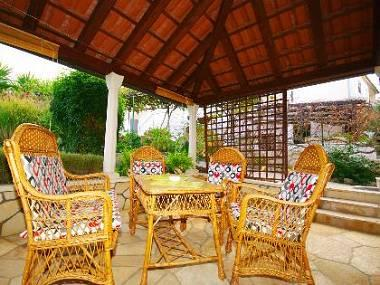 Ita (4): covered terrace - 6155 Ita (4) - Postira - Postira - rentals
