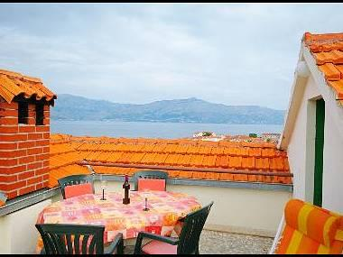 Mariana (4): terrace - 6155 Mariana (4) - Postira - Postira - rentals