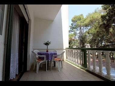 A(4+2): covered terrace - 7208 A(4+2) - Petrcane - Petrcane - rentals
