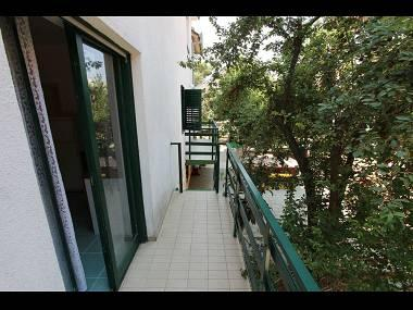 B(4+1): balcony - 7208 B(4+1) - Petrcane - Petrcane - rentals