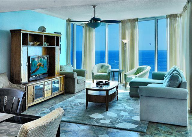 BEACHFRONT & BEAUTIFUL FOR 8! WOW VIEWS! OPEN FOR 3/7-14! 30% OFF BOOK NOW - Image 1 - Panama City Beach - rentals