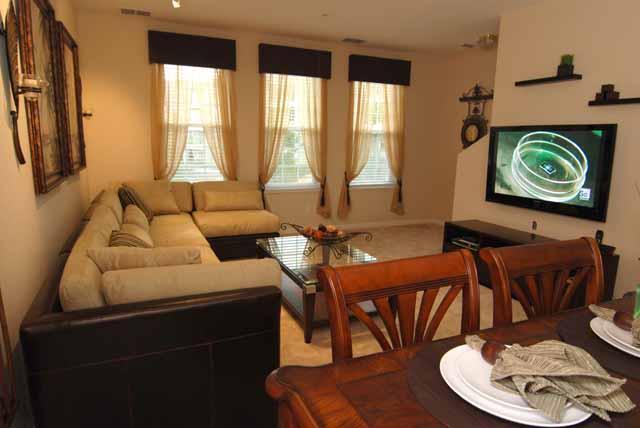 Gov House LR TV - Governor's House Town Home@ Vista Cay - Orlando - rentals