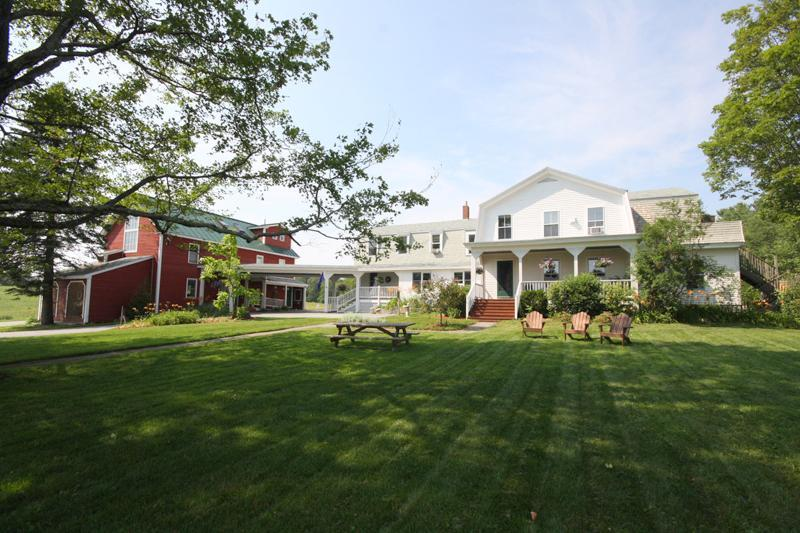The front of the inn, set way back from the public road. - Maple Hill Farm Inn - Hallowell - rentals