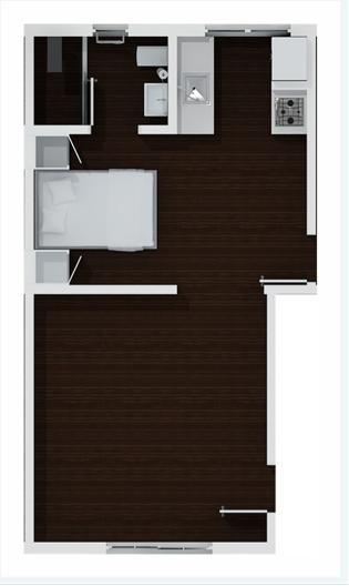 Floor Plan - ChicPlace at Lincoln - North Miami Beach - rentals