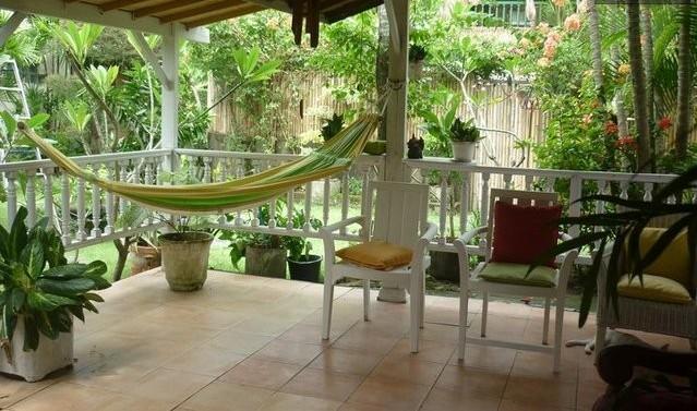 Open living room & Zen garden - Bali Cozy Bungalow - Seminyak - rentals