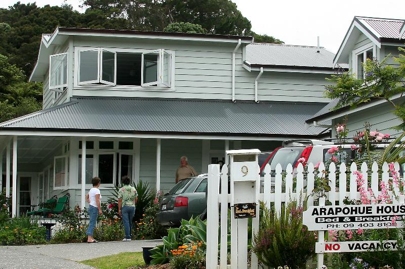 Arapohue House from Wellington Street - Arapohue House B&B - Russell - rentals