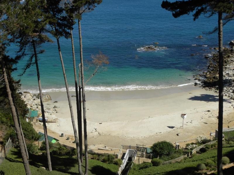 View from Balcony to the beach - Fabulous Beach View, Algarrobo, Chile - Algarrobo - rentals