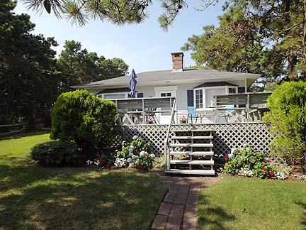 Front of House with Deck - South Chatham Cape Cod Vacation Rental (2400) - Chatham - rentals