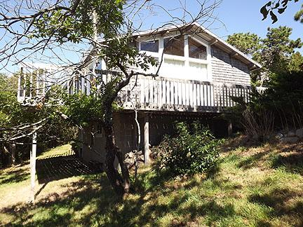 Back / Side of House - South Chatham Cape Cod Waterfront Vacation Rental (32) - Chatham - rentals