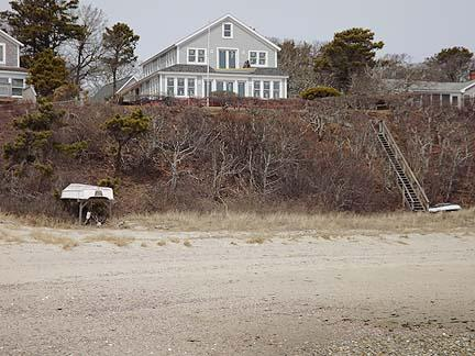 View of House from Beach - South Chatham Cape Cod Waterfront Vacation Rental (4820) - South Chatham - rentals