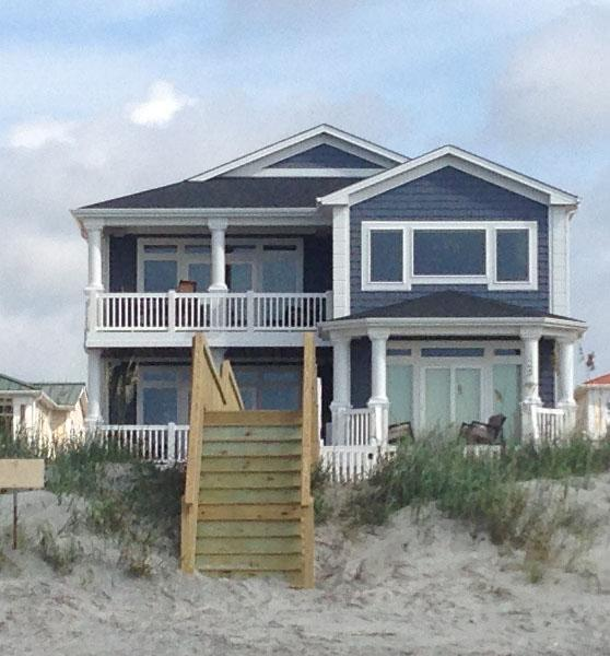 Ocean Front, Spectacular New Home - Image 1 - Ocean Isle Beach - rentals
