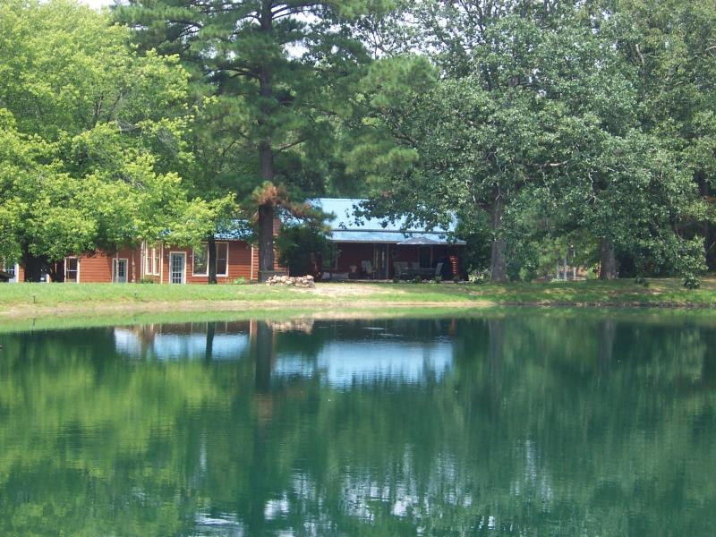 A view of the property from the road - Super Lakeside Rental near Cary/CH at Jordan Lake - Cary - rentals