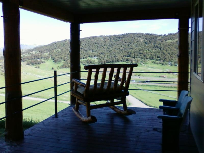 View from porch - Flatpennyinn Inn - Livingston - rentals