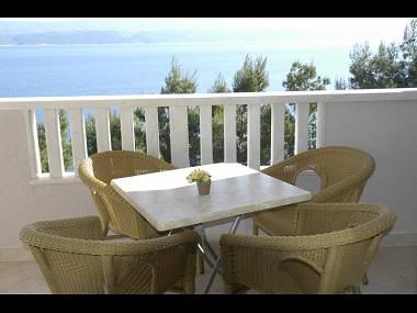 A5(2+2): balcony - 7237 A5(2+2) - Stanici - Stanici - rentals