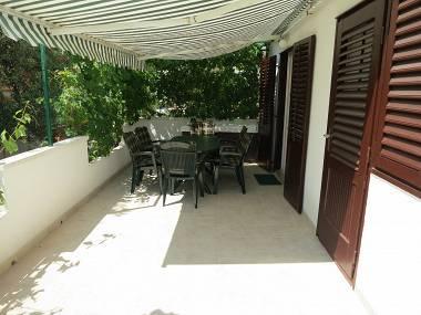 A1(4+1): terrace - 7240 A1(4+1) - Silba (Island Silba) - Croatia - rentals