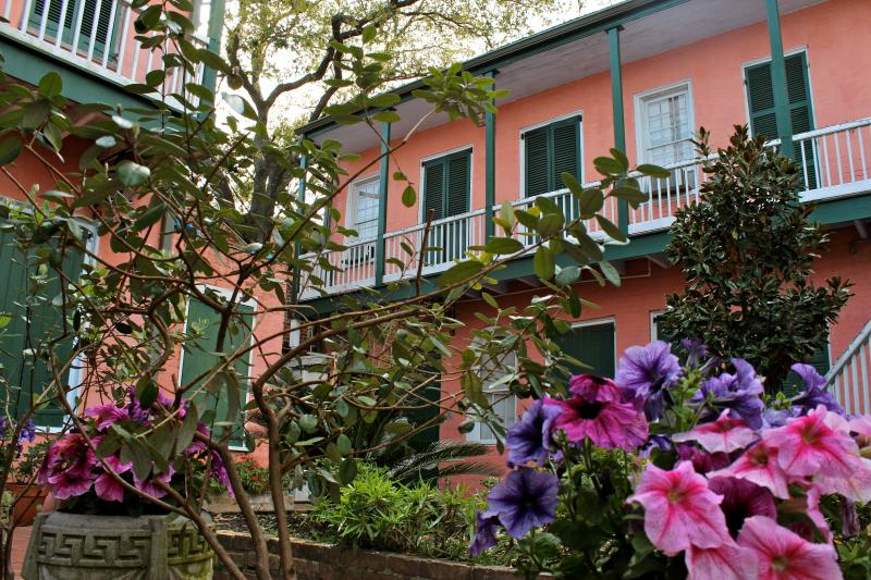 View from the Courtyard - Quiet Oasis in the Heart of the French Quarter - New Orleans - rentals