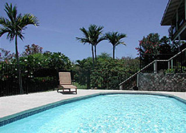 Paradise Found 4 b/r Pool Home with gorgeous ocean views at a good price Kona - Image 1 - Kailua-Kona - rentals