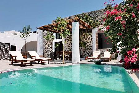 Mansion Kiara - Mansion offers pool, open living plan & entertainment area - Image 1 - Megalochori - rentals