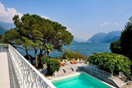 Villa Bianca- enchanting view of Lake Como & mountains, coveted location - Image 1 - Oliveto Lario - rentals