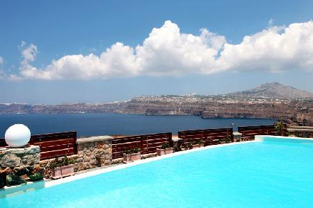 Michaela Residence - Villa on hilltop with amazing views, infinity pool & playful character - Image 1 - Akrotiri - rentals