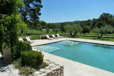 Historic Farmhouse Le Mas de l'Ange with Pool, Tennis Court & Daily Maid - Great for Large Groups - Image 1 - Saint-Remy-de-Provence - rentals