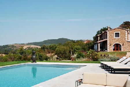 Ferrosa- in the rolling hills of Tuscany, superb views, pool & pizza oven - Image 1 - Grosseto - rentals