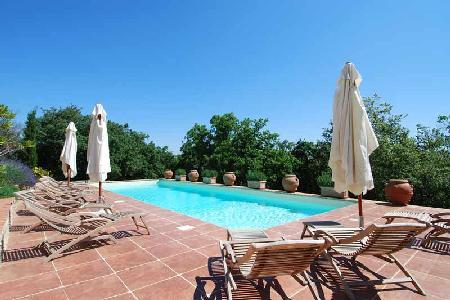 17th century farmhouse Villa Salute with exquisite views, covered patio & pool - Image 1 - Siena - rentals