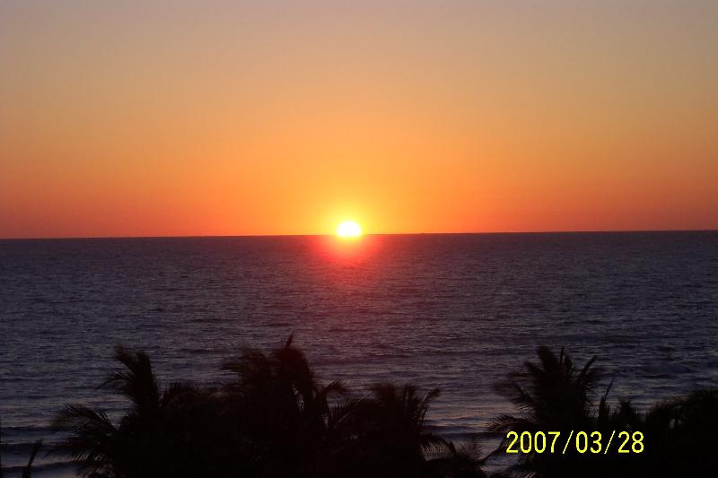 Sunset From Balcony - Magnificent Beachfront Condo - Mazatlan - rentals