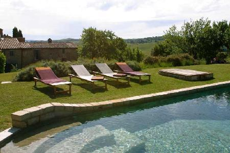 Authentic Tuscan villa Pieve A Pava set in the lush countryside with pool & alfresco dining - Image 1 - Montalcino - rentals