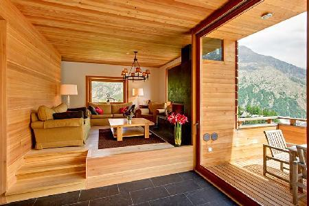Contemporary Alpine Chalet Esprit with easy access to lift station, sauna & private chef - Image 1 - Saas-Fee - rentals