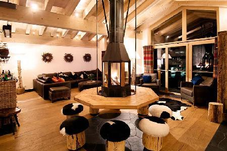 Perfectly located, The Zermatt Lodge is a 5-star catered apartment with fantastic views & hot tub - Image 1 - Zermatt - rentals